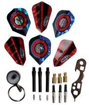 Halex Steel Tip Dart Accessory Kit dart tool stone flights spin shaft protector - $11.93