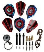Halex Steel Tip Dart Accessory Kit dart tool stone flights spin shaft pr... - $11.93