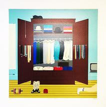 "Shigeo Oku ""Jimmy's Closet"" - S/N Serigraph - R... - $400.00"