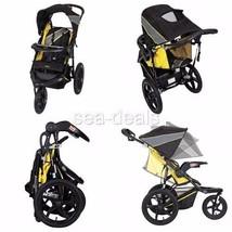 Baby Jogger Stroller 3 Wheel All Terrain Lightweight Reclining w Cup Hol... - $139.37