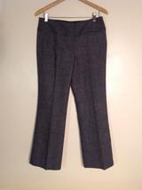 Dalia Collection Women's Petite Size 6 Pants Tweed Gray-Look (Black & White)