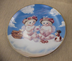 Hamilton Collection Dreamsicles A Heavenly Tea Party Plate #C955 UPC:710... - $14.85