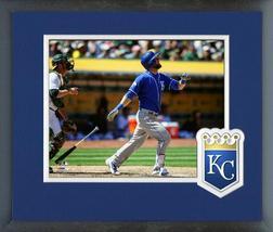 Alex Gordon 2016 Kansas City Royals -11 x 14 Team Logo Matted/Framed Photo - $42.95