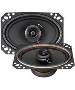 """Magnadyne 4"""" x 6"""" 2-Way Speaker F46XB-WN 25 watts Ferrofluid silk dome t... - $29.69"""