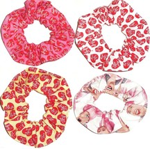 I Love Lucy Hair Scrunchie Fabric Scrunchies by Sherry Ponytail Holders Ties New - $6.99+