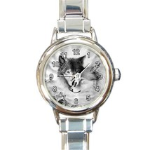 Ladies Round Italian Charm Bracelet Watch Wolf Mates Gift model 30350833 - $11.99
