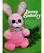Vintage 1979 Crafts 'n Things Easter Crafts,  Hobby Horse, Clothespin Cu... - $6.95