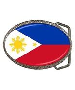 Phillipines Flag Belt Buckle Filipino - $7.52