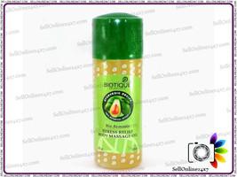 Biotique Bio Avocado Soothing Body Massage Herbal Oil Reduce Stress & Pa... - $7.91