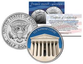 UNITED STATES SUPREME COURT Washington D.C. JFK Kennedy Half Dollar U.S.... - $8.95