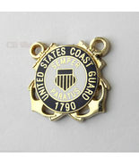 NICE QUALITY BLUE COAST GUARD LAPEL PIN BADGE 1... - $4.46