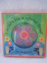 A Mothers Love is a Reflection Through Her Daughter   Plaque New - $2.99