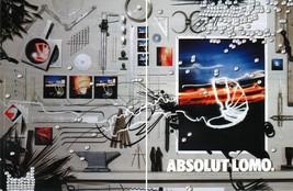 ABSOLUT LOMO Vodka Magazine Ad STELLA GREECE 2pp - $9.99