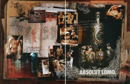 ABSOLUT LOMO Vodka Magazine Ad OLLI GERMANY 2pp - $9.99