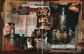 ABSOLUT LOMO Vodka Magazine Ad OLLI GERMANY 2pp - $9.99