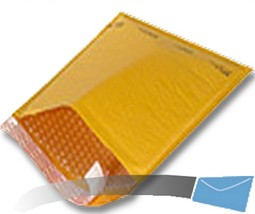 5 12.5x19 Kraft Bubble Mailer Envelope Shipping Wrap Sealed Air Paper Ma... - $4.92