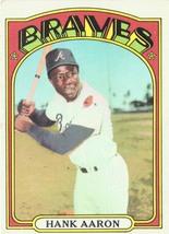 1972 Topps #299 Hank Aaron, Grade 5.6 EX - $39.99