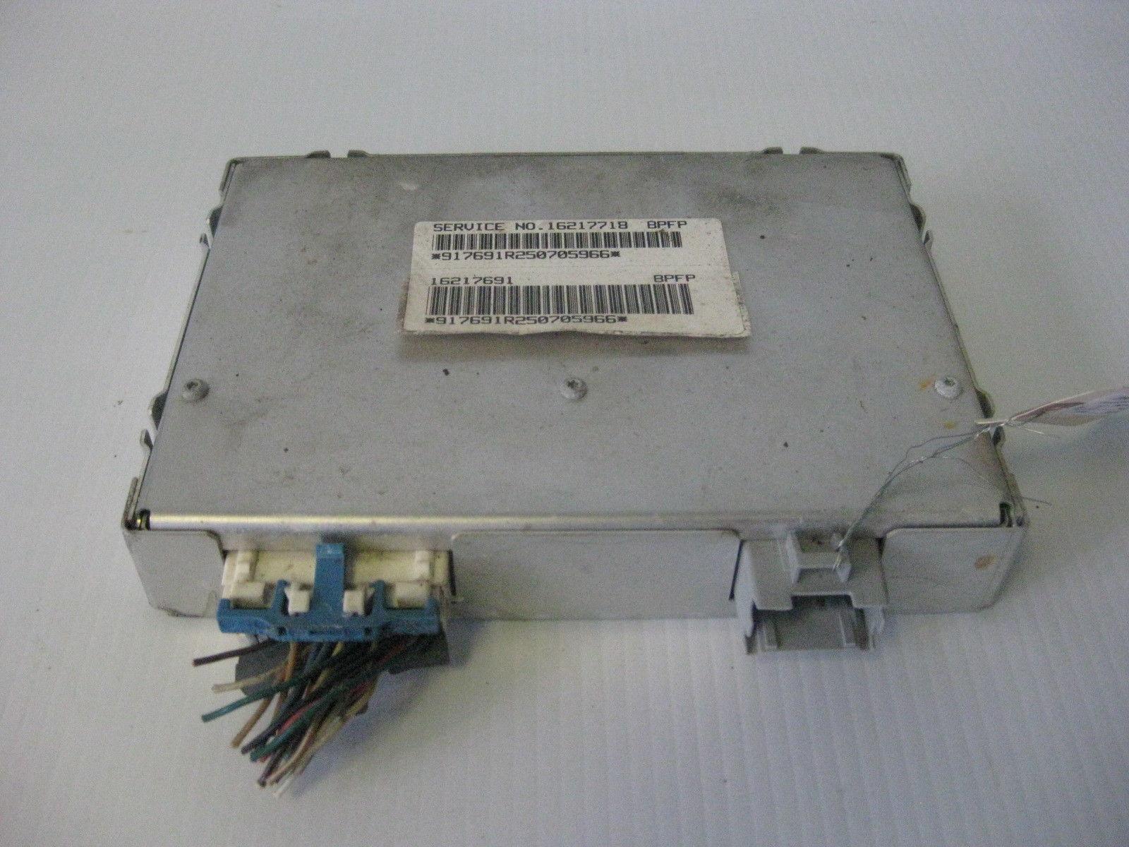 Oldsmobile Cutlass 1995  Anti Lock Brake Control Module Computer OEM 16217691
