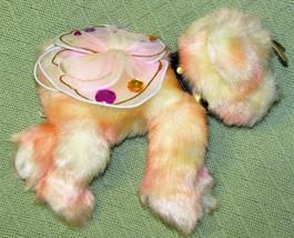 Aurora PUPPILLONS Plush Stuffed Winged Puppy Animal 2002 COLLAR & Dog TA... - $14.03