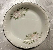 Vintage Rose Sheffield 4 inch plate, dish made in Japan classic 501 - $19.99