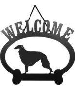 Welcome Sign - Borzoi - $24.74