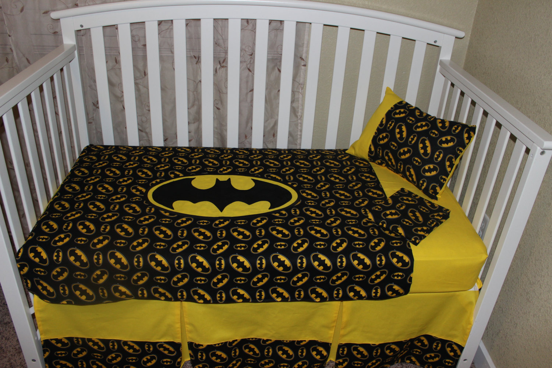 crib bedding set batman 5 piece nursery bedding sets