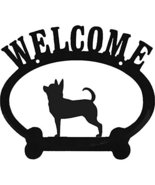 Chihuahua Metal Welcome Sign - $24.74