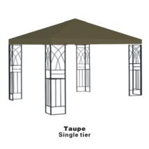 Garden10'X10'gazebo canopy top patio pavilion cover sunshade plyester si... - $64.99