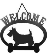 Scottish Terrier Welcome Sign - $24.74