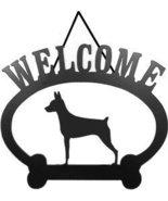 Miniature Pinscher Welcome Sign - $24.74