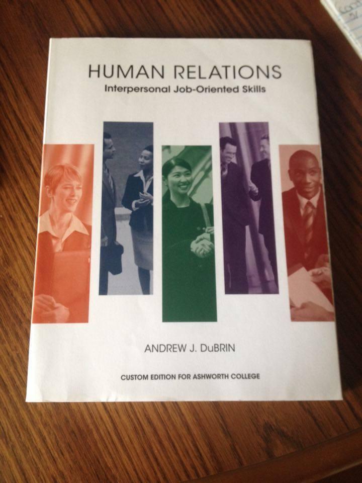 "Human Relations ""Interpersonal Job-Oriented Skills ..."