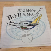 Tommy Bahama Captains Chair Back Insert SAIL FAST LIVE SLOW Pillow Fabri... - $65.44