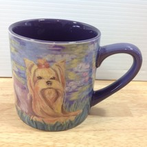 Bonet Yorkshire Terrier Dog Mug Paw Pallettes Watercolor Kish Serrano 2012 - $14.01