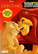 Disney - The Lion King - Gigantic Coloring & Activity Book - 200 Pages - $4.75