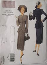 Vogue sz 14-22 Repro 1947 Vintage Pattern 1019 Ladies  Skirt, Fitted Jac... - $11.99