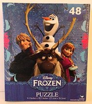 Disney Frozen 48 piece Puzzle Anna, Kristoff, Olaf & Sven - $0.99