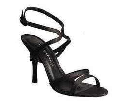 Rock & Republic Miranda Satin Strappy Sandal Sz 9 - $84.65