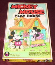 VINTAGE MICKEY MOUSE MINNIE PLAY HOUSE COLORFOR... - $49.99
