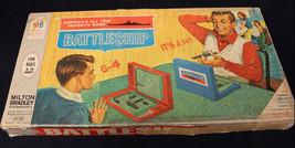 VINTAGE 1967 MILTON BRADLEY BOARD GAME BATTLESHIP 4730 COMPLETE INSPECTE... - $18.39