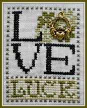 Love Luck Love Bits cross stitch chart Hinzeit - $6.00