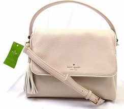 Kate Spade Miri Chester Street Satchel Crossbody Shoulder Bag Cream NWT ... - ₨12,628.83 INR