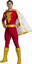 Charades Shazam Superhero DC Comics Jumpsuit Adult Mens Halloween Costum... - $95.07