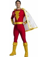 Charades Shazam Superhero DC Comics Jumpsuit Adult Mens Halloween Costum... - £69.06 GBP
