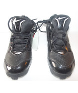 Nike Expand Tech Boys Cleats Black White Size 3Y NWOT - $36.85