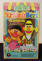 NIP COLORFORMS COMPLETE SESAME STREET ERNIE & BERT PLAY HOUSE BOX SET SE... - $50.00