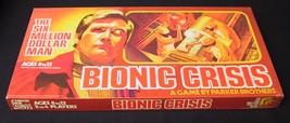 BIONIC CRISIS BOARD GAME PARKER BROTHERS SIX MILLION DOLLAR MAN UNPUNCH ... - $28.70