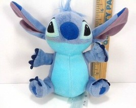 Disney Store Exclusive Lilo & Stitch Sitting and Smiling Stitch Ears up ... - $11.57
