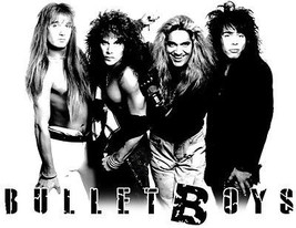 Bullet Boys T shirt 80's heavy metal retro glam rock 100% cotton graphic tee image 2
