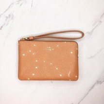 Coach Sunrise Nasa Collection Stars Space Zip Wristlet Bag Wallet - $67.71