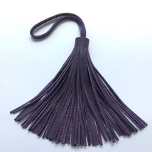 Leather tassel , long and bulky very soft real ... - $17.95